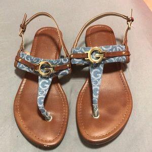 GUESS sandals size 8 Women